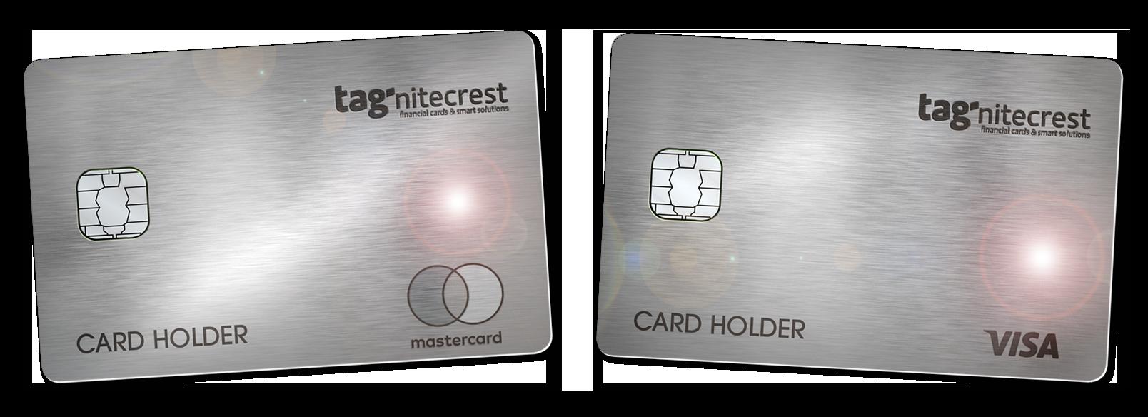 tagnitecrest metal cards